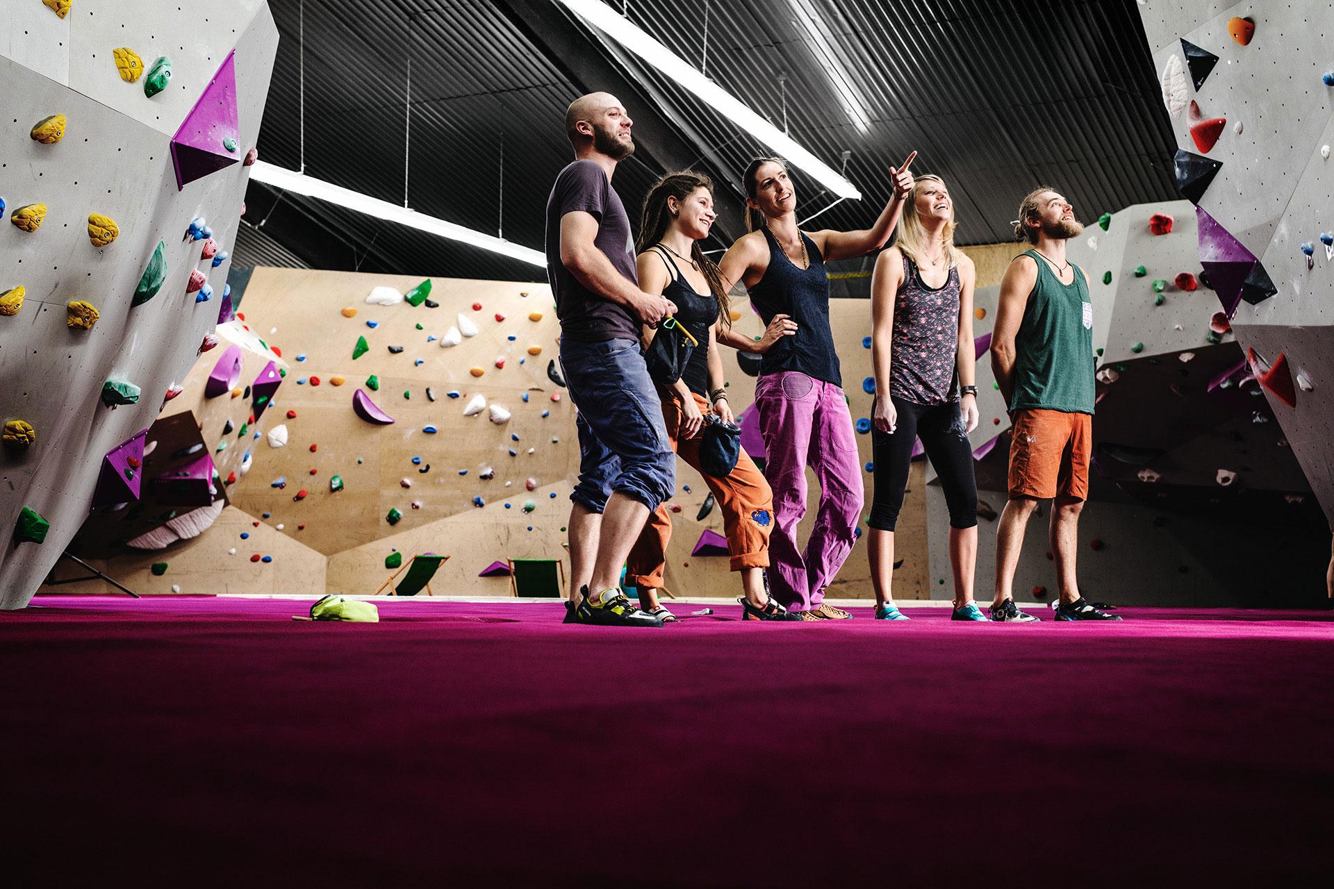 Indoor Bouldern Oberhausen
